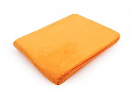 Dětská deka SUSSIE oranžová 75x100 cm Essex