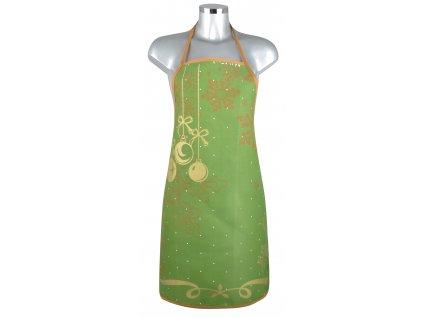 Kuchyňské zástěry RIVANDEL zelená, 60x75 cm Essex
