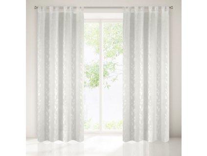 Dekorační záclona NOMINA bílá 140x250 cm MyBestHome