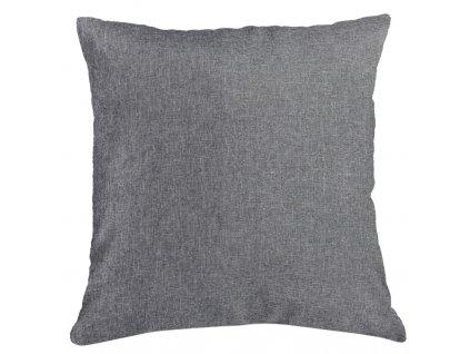 Polštář BASIC 40x40 cm šedá, ESSEX