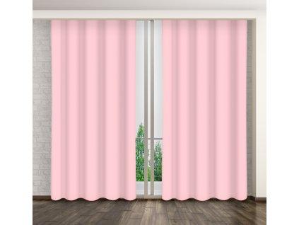 Dekorační závěs 18 světle růžová 160x250 cm MyBestHome