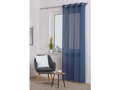 Dekorační záclona SOFIA modrá 140x250 cm MyBestHome