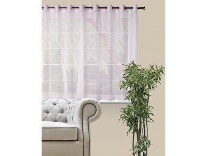 Dekorační krátká záclona DIANA bílá 290x160 cm MyBestHome
