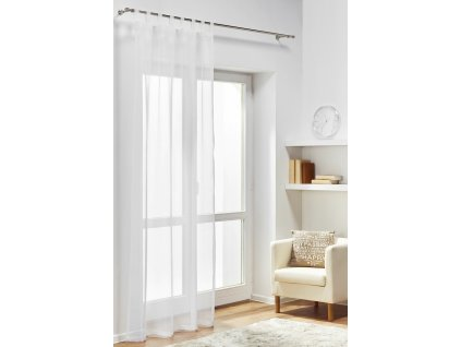 Dekorační záclona DIANA bílá 140x245 cm MyBestHome
