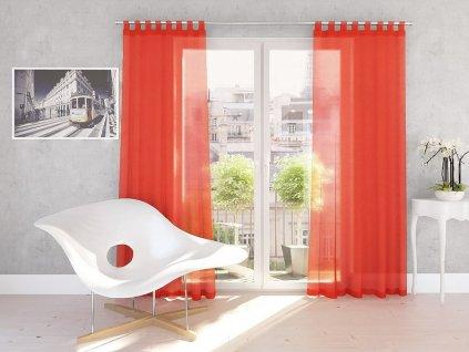 Dekorační záclona DIANA oranžová 140x245 cm MyBestHome