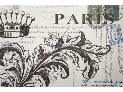 Prostírání GRETA 30x44 cm motiv C Paris Mybesthome
