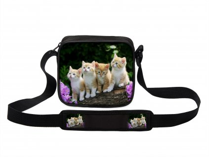 Taška přes rameno MINI kočky 17 MyBestHome 19x17x6 cm