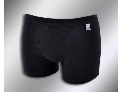 Pánské boxerky 9004 černá Sergio Tacchini