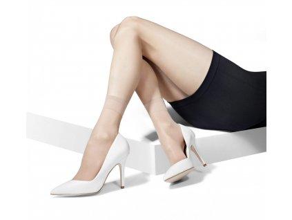 ELASTAN CLASSIC dámské ponožky 15 DEN, 2 páry, KNITTEX