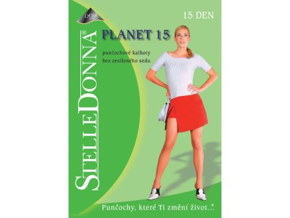 PLANET dámské punčochové kalhoty bez zesíleného sedu 15 DEN, STELLEDONNA (Varianta opálená, vel. 2)