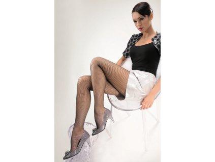 RETE CLASSIQUE dámské síťované punčochové kalhoty KNITTEX (Varianta černá, vel. 2)