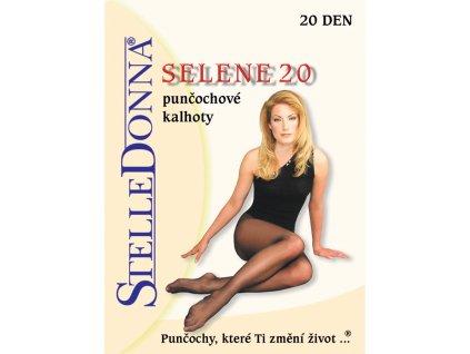 SELENE dámské punčochové kalhoty 20 DEN, STELLEDONNA (Varianta černá, vel. 2)