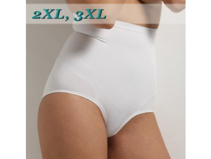CULOTTE VITA ALTA MAXI 2XL a 3XL modelante stahovací kalhotky, SENSI
