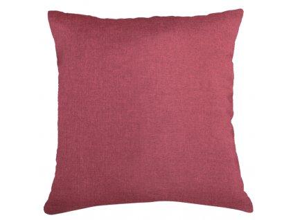 Polštář BASIC 40x40 cm červená, ESSEX