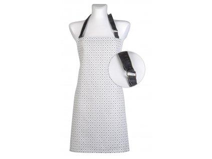 Kuchyňská bavlněná zástěra TIMEX béžová, Essex, 100% bavlna