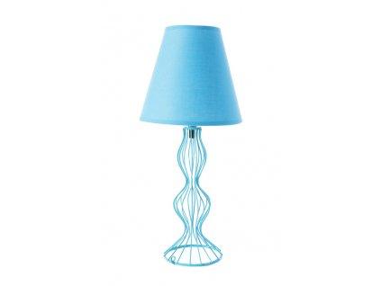 Stolní lampa BRIANA 20x20x44 cm tyrkysová Mybesthome