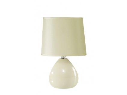 Stolní lampa INGRID 15x15x24 cm světle béžová Mybesthome