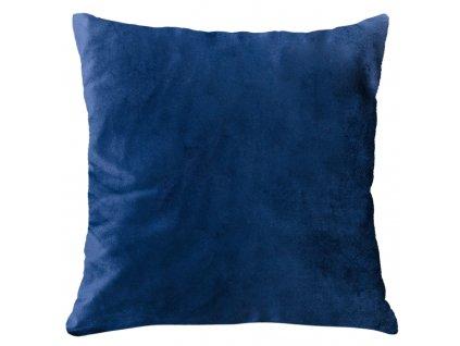 Polštář SILK VELVET modrá 40x40 cm Essex