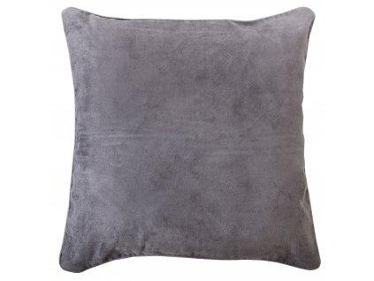 Polštář BRIGHT tmavě šedá 40x40 cm Essex