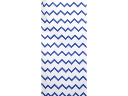 Utěrka TWISTER, 100% bavlna, bílá/modrá, 45x65 cm Essex