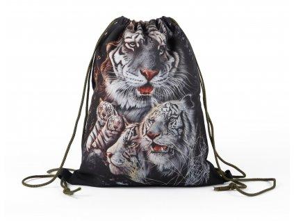 Vak na záda 20 Tygři MyBestHome 41x32 cm