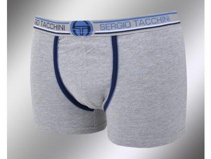 Pánské vzorované boxerky 18421 grigio Sergio Tacchini
