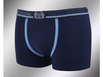 Pánské vzorované boxerky 18421 blu Sergio Tacchini