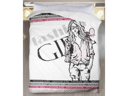 Přehoz na postel FASHION GIRL 170x210 cm Mybesthome