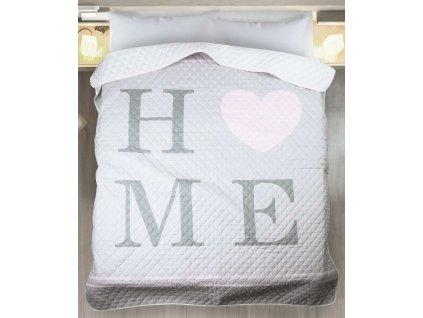 Přehoz na postel HOME 01 200x220 cm Mybesthome