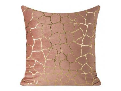 Polštář MILANO růžová 45x45 cm Mybesthome
