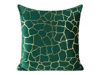 Polštář MILANO zelená 45x45 cm Mybesthome