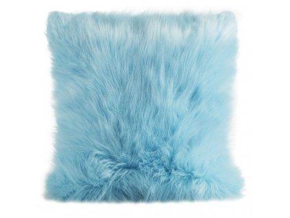 Polštář PUMICE II. 45x45cm světle modrá MyBestHome