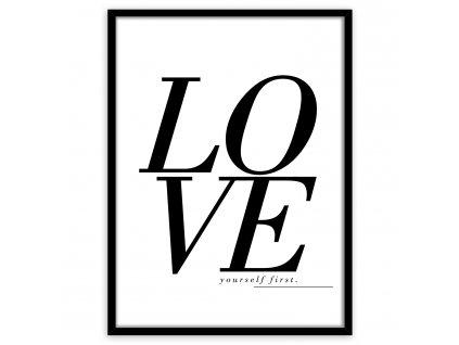 Obraz v rámu LOVE 50x70 cm Styler