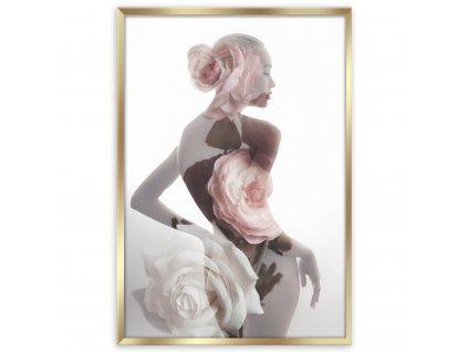 Obraz v rámu FEMININE 50x70 cm Styler