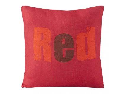 Polštář COLORS červená MyBestHome 45x45cm