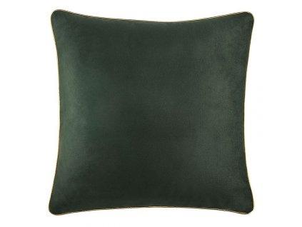 Polštář GLORY tmavě zelená 45x45 cm Mybesthome
