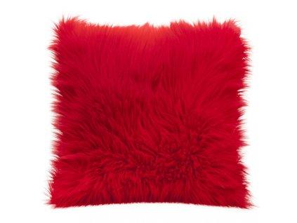 Polštář PUMICE II. 45x45cm červená MyBestHome