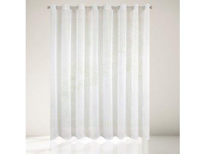 Dekorační záclona s kroužky CHRISTIAN krémová 300x250 cm MyBestHome