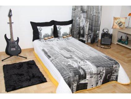 Přehoz na postel NEW YORK 155x200 cm Mybesthome