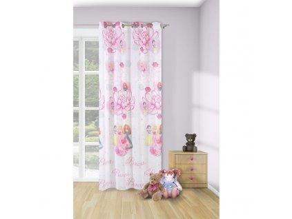 Dekorační záclona PRINCEZNY 140x245 cm MyBestHome