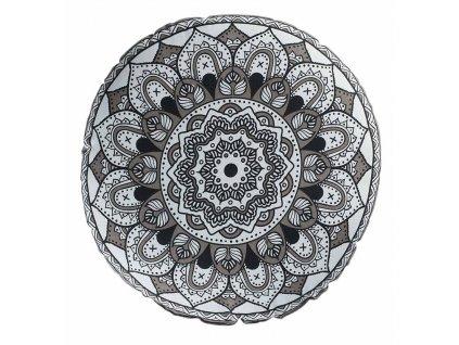 Polštář s výplní RONDA Ø 45 cm x 10 cm Mybesthome
