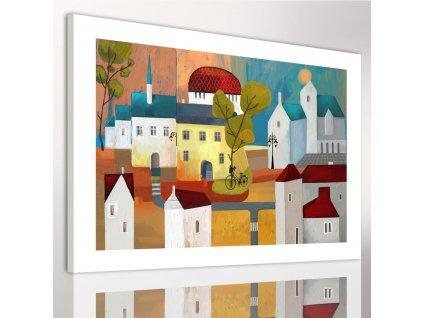 Obraz na plátně KIDS CITY A různé rozměry Ludesign