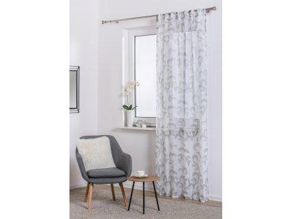 Dekorační vzorovaná záclona REVE 140x245 cm MyBestHome