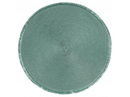 Prostírání kulaté CARIBI zelená Ø 38 cm Mybesthome