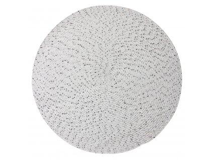 Prostírání kulaté MIRGO bílá Ø 38 cm Mybesthome