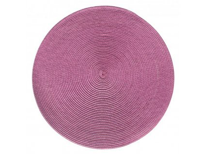 Prostírání kulaté SPLOT růžovo-fialová Ø 38 cm MybesthomePodkładka stołowa Splot różne kolory 38 cm