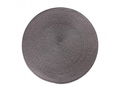 Prostírání kulaté SPLOT šedá Ø 38 cm Mybesthome