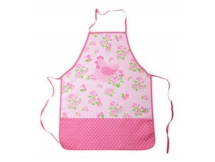 Kuchyňská zástěra ROSE CHICK růžová, 60x75 cm Essex