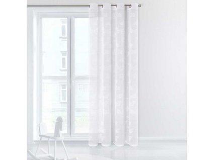 Dekorační vzorovaná záclona FLY bílá 140x250 cm MyBestHome