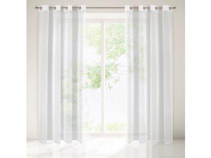 Dekorační záclona WAN bílá 135x250 cm MyBestHome